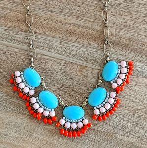 JCrew teal necklace
